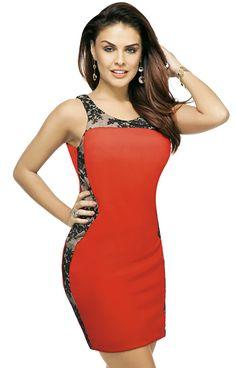 Vestido com detalhes de renda http://www.portaldeartesanato.com.br/materias/2798/vestido+com+detalhes+de+renda