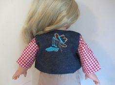 Habit de poupée : déguisement de cow boy pour poupée Précious Day 46 cm de Götz