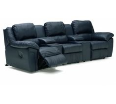 41162 Daley Theater Sectional | Palliser Furniture