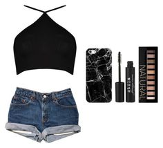 """""""Tongues."""" by dude-iloveyouxo ❤ liked on Polyvore featuring Boohoo, Casetify, Stila and Forever 21"""