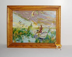 Vintage Paint by Number Wilderness 50s by CheekyVintageCloset, $54.00