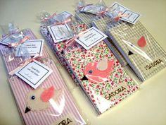 Bloquinhos personalizados - Lembrancinhas da portfolioideias.wordpress.com