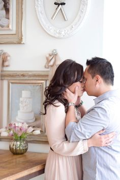 Pastry shop #engagement session | Photography: Amsis Photography - amsisphotography.com  Read More: http://www.stylemepretty.com/canada-weddings/2014/05/05/sweet-bakery-engagement/