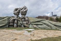 Bulgaria's abandoned monument to Communism looks like a decaying spaceship | Dangerous Minds