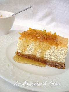 Cheesecake aux épices sirop de miel