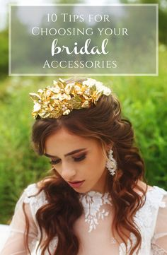 10 Tips for Choosing Your Bridal Accessories from Kata Banko Couture and Burgh Brides