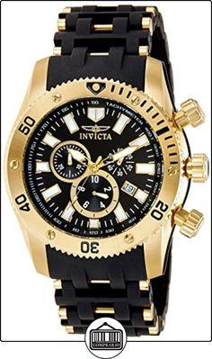 Invicta 0140 - Reloj para hombre color negro / negro de  ✿ Relojes para hombre - (Gama media/alta) ✿
