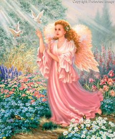 DIY Diamond Painting Baby Square Diamond Painting Cross Stitch Angel Girl Flower Diamond Drill Rhinestone Home Decoration Angel Images, Angel Pictures, Angels Beauty, Angel Quotes, Cross Stitch Angels, I Believe In Angels, My Guardian Angel, Angels Among Us, Angels In Heaven