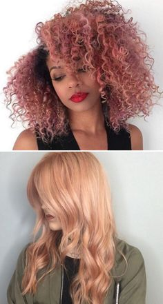 If you were thinking of switching up your hair color for the warmer seasons, listen up, because this new hair color trend is amazing: rose gold hair. I don't know about you guys, but I could not be more excited about this. I'm obsessed with gold – I have a gold stapler (makes doing work at my desk that much more palatable), some gold folders from Poppin, and I even recently got some pink/rose gold glasses that I'm loving. So, naturally, when I saw that Emma Roberts had posted an Instagram…