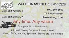 24 Hour Mobile Services