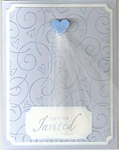 Wedding Shower Invitation by *talks* - Cards and Paper Crafts at Splitcoaststampers