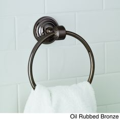 modern towel ring. Norwell Lighting Emily Modern Towel Ring
