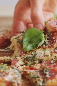 Vegetarian Recipes, Cooking Recipes, Healthy Recipes, Pizza Recipes, Come Reza Ama, Good Food, Yummy Food, Tasty, Health Dinner