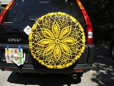 This would be perfect if Jenny had a tire on the back! @Stacey Hough