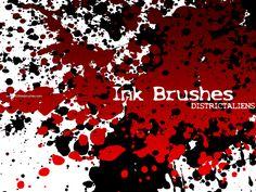 Ink Splat 7 - Download  Photoshop brush http://www.123freebrushes.com/ink-splat-7/ , Published in #GrungeSplatter. More Free Grunge & Splatter Brushes, http://www.123freebrushes.com/free-brushes/grunge-splatter/ | #123freebrushes