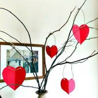 Sweet Parrish Place: Paper Heart Valentines Tree