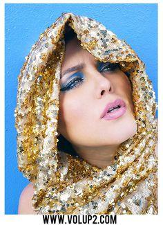 Photographer Velvet d'Amour  Designer Betty Jean Couture  Model Yanderis Lodos  Makeup Joshua Ribadeo  www.volup2.com