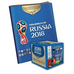 Panini FIFA World Cup Russia 2018-Russia album &10 Free Stickers-FREE-SHIPPING