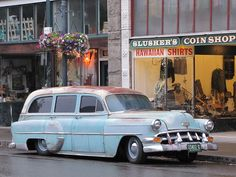 1954 chev wagon