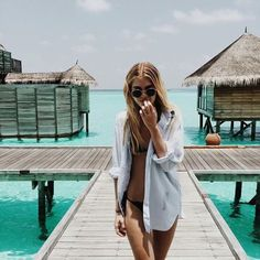 The most detailed travel guide about the Maldives for every budget! Learn everything about the Maldives and plan your the best vacation! Beach Bum, Summer Beach, Girl Beach, Ocean Beach, Summer Vibes, Sexy Bikini, Bikini Shirt, Black Bikini, Bikini String