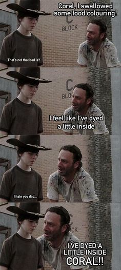 Don't watch the walking dead but this is pretty funny