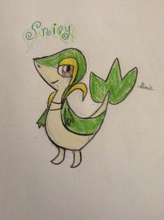 Snivy: Credit-Hyrulean Pikachu