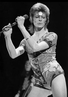Bowie Ziggy Stardust era   Romper!! #styleicon #modcloth