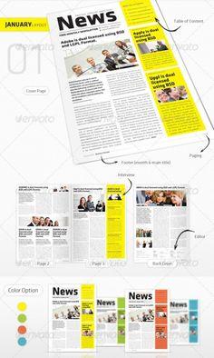 Modern Colorful Newsletter  Cbh    Newsletter