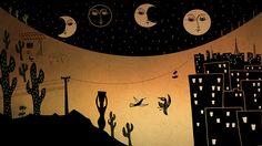 """Ilustração criada para o projeto de captação do longa-metragem """"Lucia"""", uma co-produção Zero Grau Filmes e Na Lage Filmes."""