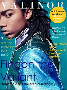 He was gentle of mood... — swagstagtastic: Valinor Magazine, basically an...