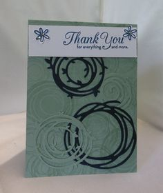 Stamping at The Warren: Swirly Scribbles Faux Emboss technique using Die cuts…