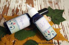 Misha Beauty - přírodní kosmetika a jiné DIY projekty : Denní a noční péče - oddělené fáze