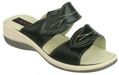 Napa Flex Womens Brenda Slide SandalsBlack10 M >>> To view further for this item, visit the image link.(This is an Amazon affiliate link)