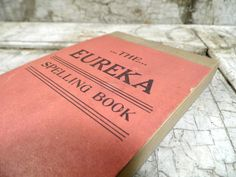 Vintage School Supplies | Vintage Office Supplies, School Supplies, Old Time Speller Tablet, New ...