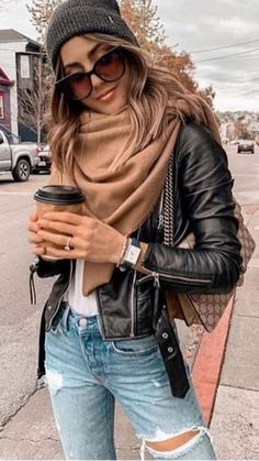 Cute And Casual Fall Outfit Ideas ! niedliche und lässige herbst-outfit-ideen Cute And Casual Fall Outfit Ideas ! Winter Outfits For Teen Girls, Fall Outfits For Work, Casual Winter Outfits, Winter Fashion Outfits, Casual Fall Outfits, Look Fashion, Autumn Fashion, Women's Casual, Fashion Dresses