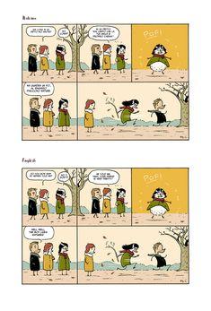 Cose da non dire / Things you shouldn't say  Terra chiama Luna - comic strips  di Francesco Dibattista