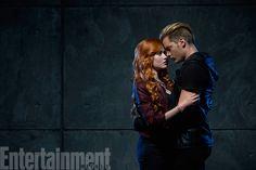 Exclusive 'Shadowhunters' First Look | Clary Fray (Katherine McNamara) and Jace Wayland (Dominic Sherwood) | EW.com