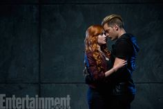 Exclusive 'Shadowhunters' First Look | Clary Fray (Katherine McNamara) and Jace Wayland (Dominic Sherwood) | EW.com