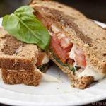 Clean Eating Grownup Grilled Cheese Sandwich