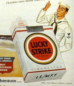 Raymond Loewy, étui pour Lucky Strike