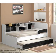 Praticidade para deixar o quarto mais organizado e proporcionar mais conforto para visitas.