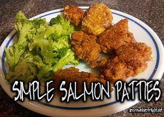 Simple Salmon Patties Shared on https://www.facebook.com/LowCarbZen