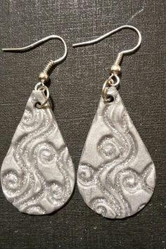 Modello / Modelo Buklé polymer clay earrings