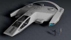 Gryphon Shuttle-nice design Star Trek Fleet, Star Trek Ships, Star Trek Books, Starship Concept, Space Fighter, Sci Fi Spaceships, Star Wars Crafts, Spaceship Art, Space Battles