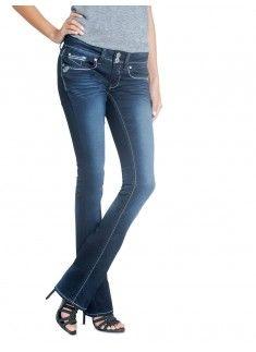 7ab6257403224 New Fall Arrivals  Hydraulic Juniors Lola Curvy Micro Boot Medium Wash   denim  jeans