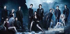 S4 Vampire Diaries whole cast - god the men look hot