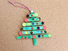 Paddle pop Christmas tree main