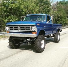 72 Ford Highboy That's what l'm talking about ! Classic Ford Trucks, Ford Pickup Trucks, Ford 4x4, 4x4 Trucks, Car Ford, Lifted Trucks, Lifted Dually, Small Trucks, Ford Bronco