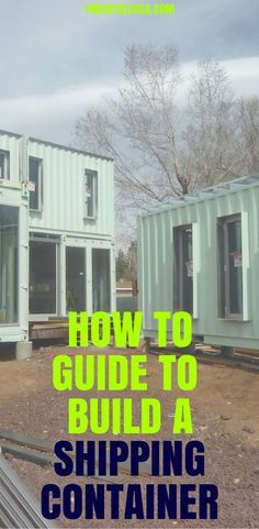 Container House - Get The Best Shipping Container Home Building Guide Today. - Who Else Wants Simple Step-By-Step Plans To Design And Build A Container Home From Scratch? Storage Container Homes, Building A Container Home, Container House Design, Tiny House Design, Shipping Container Buildings, Shipping Container Home Designs, Shipping Container House Plans, Shipping Containers, Sea Containers