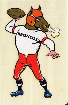 Behold this very cool set of vintage AFL/NFL team mascot decals from This is one sweet set of stickers. Sports Team Logos, Sports Art, Sports Pics, Football Ticket, Football Jerseys, Denver Broncos, Theme Sport, Sports